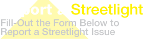 Report A Streetlight Logo